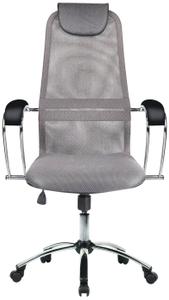 Кресло офисное Метта SU-BK-8 (БЕЗ ОСНОВАНИЯ) серый