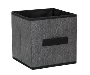Короб для хранения «Клод», 19×19×19 см, цвет графитовый Доляна