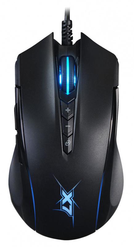 Мышь проводная A4Tech X89 черный