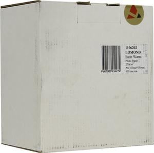 Фотобумага LOMOND 1106202 (A6, 10x15см, 500 листов, 270 г / м2) бумага фото сатин