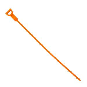 Улавливатель волос в стоках труб, 50 см Доляна