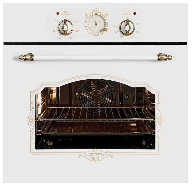 Духовой шкаф GEFEST ЭДВ ДА 602-02 К82 белый
