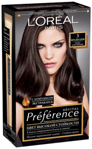 Краска для волос Preference 3 Бразилия L'Oreal Paris