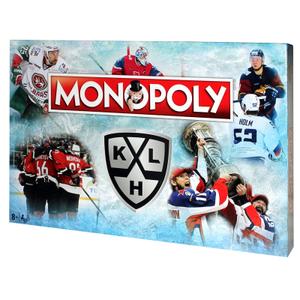 """Игра настольная Hasbro """"Монополия КХЛ"""", картонная коробка"""