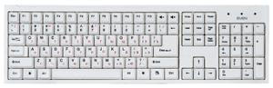Клавиатура проводная Sven Standard 303 белый