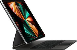 Клавиатура Apple Magic Keyboard for 12.9-inch iPad Pro (5th generation) черная, русская раскладка MJQK3RS/A