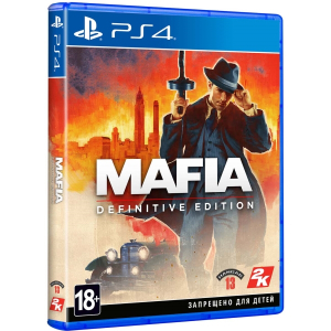 Игра на PS4 Mafia: Definitive Edition [PS4, русские субтитры]