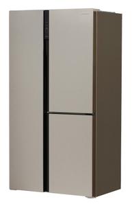 Холодильник Hyundai CS5073FV бежевый