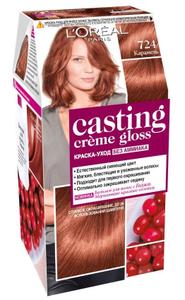 Краска-уход для волос Casting Creme Gloss 724 Карамель L'Oreal Paris