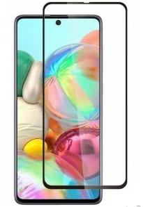 Ainy Защитное стекло (0,25мм) Samsung Galaxy A51 (A5 2020) Full Screen Cover с полноклеевой поверхностью черное