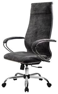 Кресло для руководителя Метта 1m 42/K (БЕЗ ОСНОВАНИЯ) серый