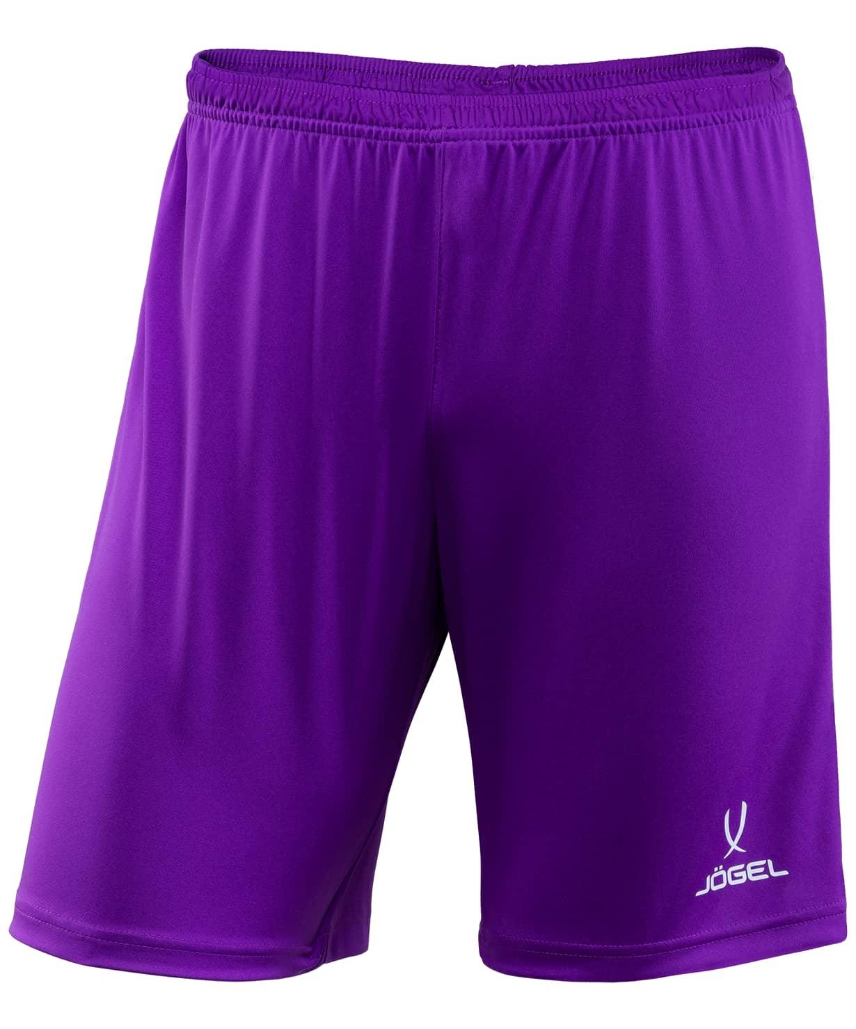Шорты футбольные CAMP JFT-1120-V1, фиолетовый/белый