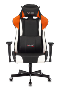 Кресло игровое Бюрократ Zombie VIKING TANK оранжевый