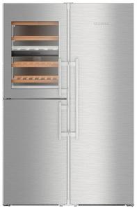 Холодильник Liebherr SBSes 8496-21 001 серебристый