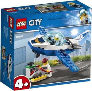 Конструктор lego city police воздушная полиция патрульный самолёт 60206