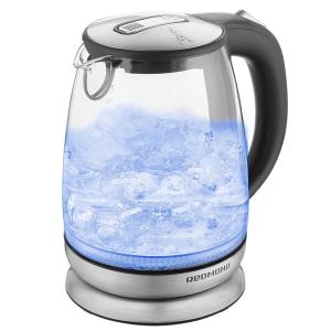 Чайник электрический Redmond RK-G127E серебристый
