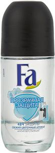 Дезодорант роликовый Прозрачная защита 50мл FA