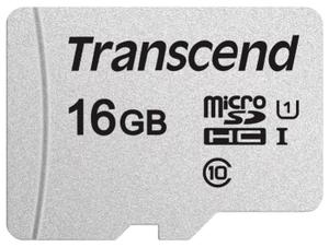 Карта памяти Transcend TS16GUSD300S-A 16 Гб