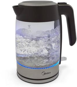 Чайник электрический Midea MK-8003 серебристый