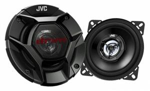 Колонки автомобильные JVC CS-DR420 220Вт 88дБ 4Ом 10см (4дюйм) (ком.:2кол.) коаксиальные двухполосные