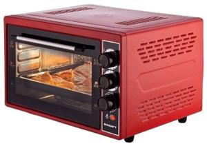 Мини-печь Kraft KF-MO 3800 R красный