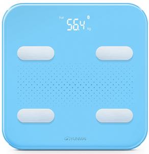 Весы напольные Yunmai S голубой