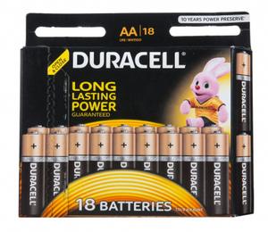 Батарейка Duracell LR6-18BL BASIC (18 шт)