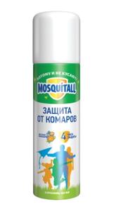 Аэрозоль Защита для взрослых от комаров 150мл MOSQUITALL