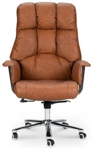 Кресло для руководителя Norden Президент коричневый