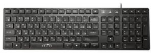 Клавиатура проводная Oklick 556S USB черный