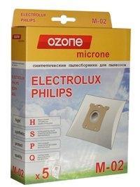OZONE micron M-02 синтетические пылесборники 5 шт.(S-bag)