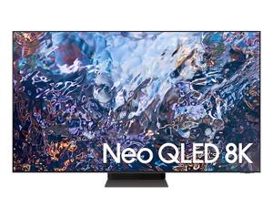 "Телевизор Samsung QE75QN700AUXRU 75"" (191 см) серебристый"