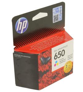 Картридж hp CZ102AE (№650) Color для принтеров HP DJ IA 2515 / 3515