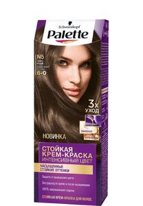 Краска для волос №5 (6-0) Темно-русый Palette