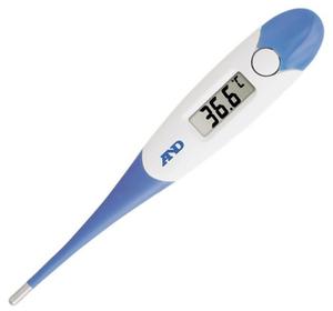 Термометр электронный A&D DT-623 белый/синий