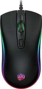 Мышь проводная Qumo Optical Mouse [Onyx RGB M73] черный
