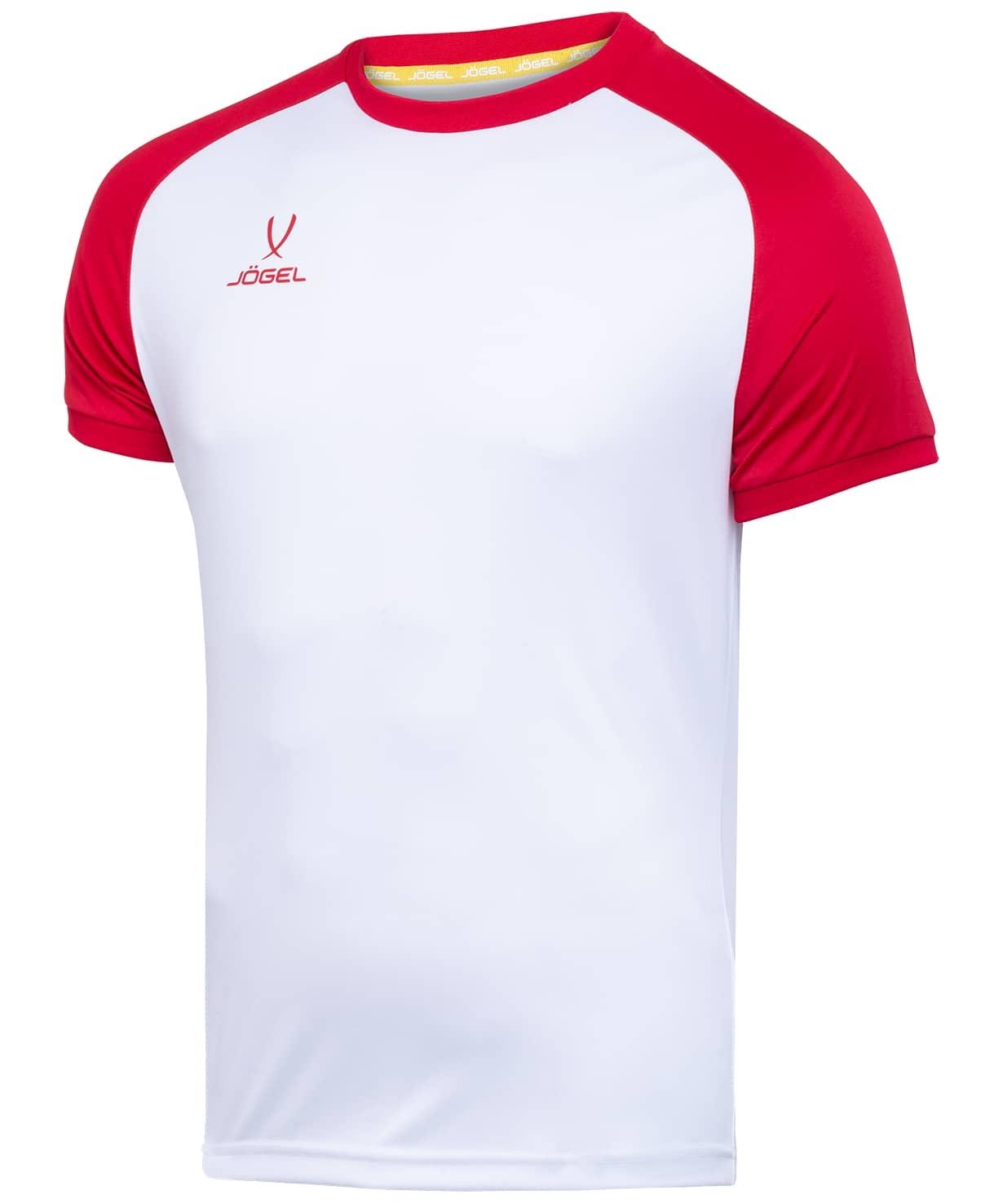 Футболка футбольная CAMP Reglan JFT-1021-071-K, белый/красный, детская
