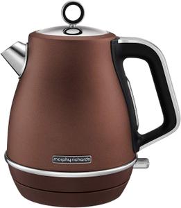 Чайник электрический Morphy Richards Evoke Jug Bronze 104401EE коричневый