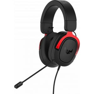 Проводная гарнитура Asus TUF Gaming H3 Red [90YH02AR-B1UA00] черный