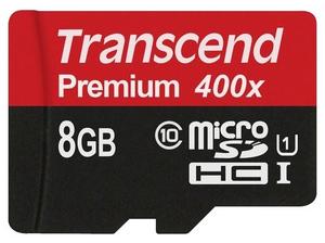 Карта памяти Transcend TS8GUSDU1 8 Гб