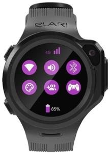 Детские умные часы Elari Kidphone 4GR черный