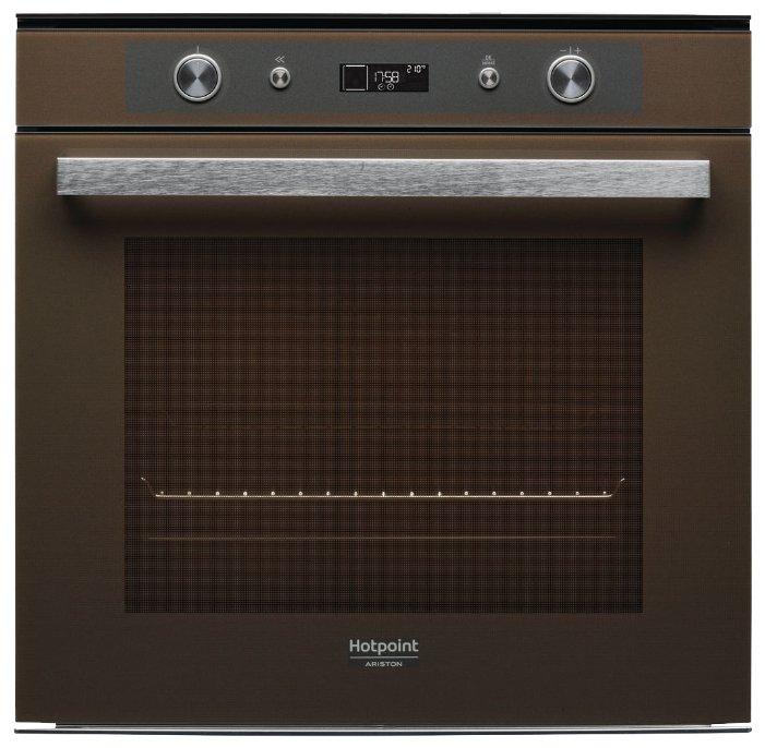 Духовой шкаф Hotpoint-Ariston FI7 861 SH CF HA коричневый