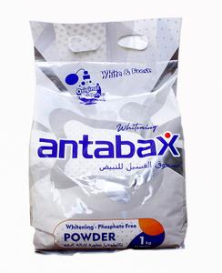 Универсальный суперочищающий стиральный порошок Premium 1кг Antabax