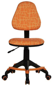 Кресло детское Бюрократ KD-4-F оранжевый