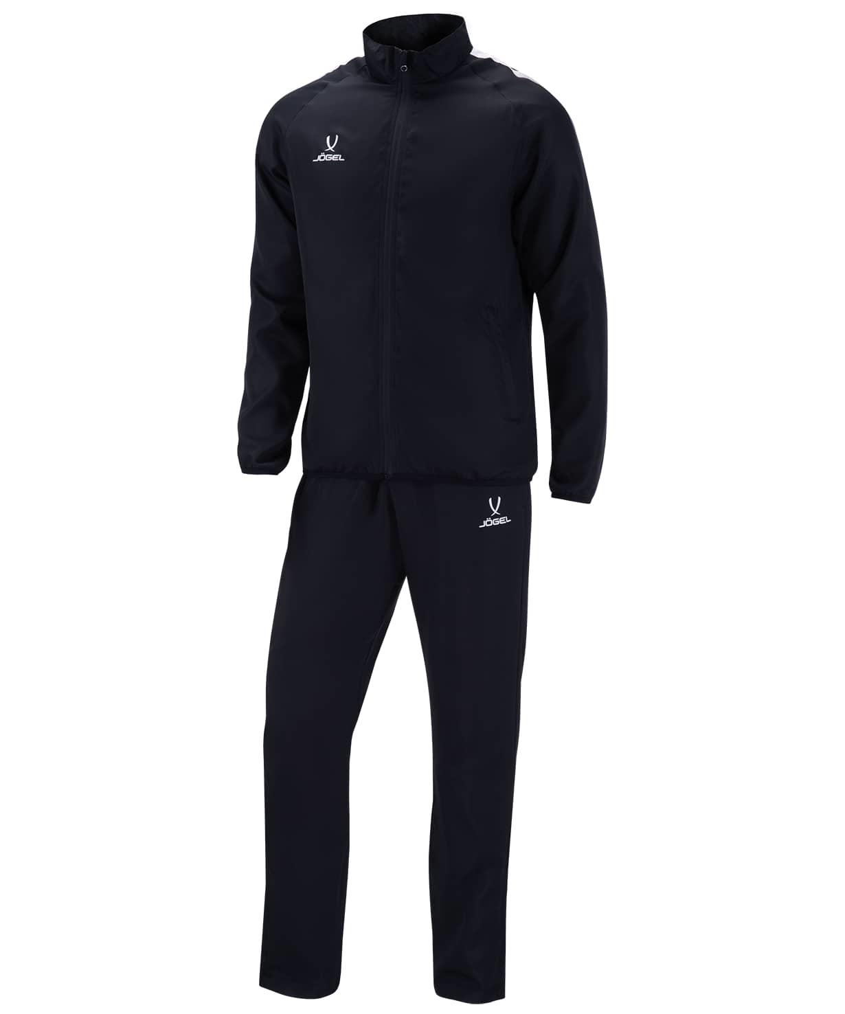 Костюм спортивный CAMP Lined Suit, черный/черный/белый