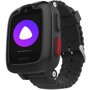 Детские смарт-часы Elari KidPhone 3G Black, ограниченная гарантия
