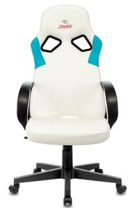 Кресло игровое Бюрократ Zombie RUNNER белый