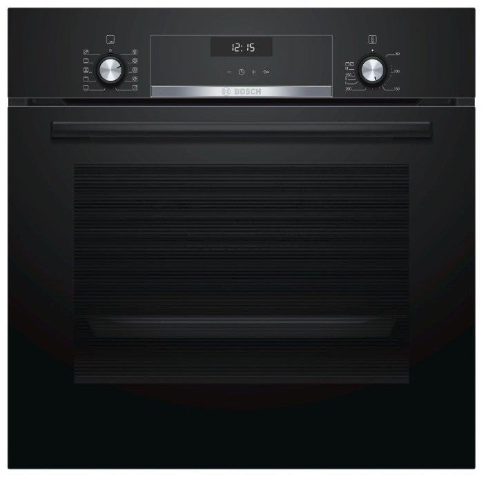 Духовой шкаф Bosch HBJ558YB0Q черный