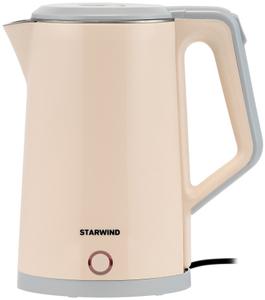 Чайник электрический StarWind SKS2062 бежевый