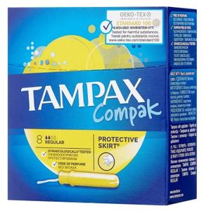 Тампоны женские гигиенические с аппликатором Regular 8шт TAMPAX